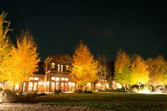 The Granite Lodge during a time lapse session at The Ranch at Rock Creek, Montana. #travel