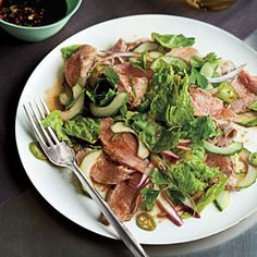 <strong>Slice/Dice:</strong> Vietnamese Salad - 25 Healthy Pork Tenderloin Recipes - Cooking Light