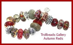 Check out the beads on our site! Large Berry,Scarlet Armadillo,Red Feather,Deep Red Prism...all the ingredients to make a great new design.