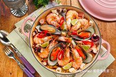 鬼嫁料理手帳: 藍帶鬼煮意: 好吃就是王道,附《西班牙海鮮飯 – Seafood Paella 》食譜