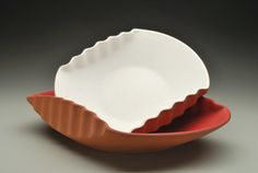 Image of Small Corrugated Bowl
