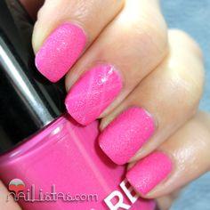 Texture Nail Polish Design   Diseños de uñas fáciles para esmaltes con textura Us Nails, Beauty Nails, Nail Designs, Nail Polish, Nail Art, Concrete Jungle, Nail Fashion, Fashion Ideas, Rainbow
