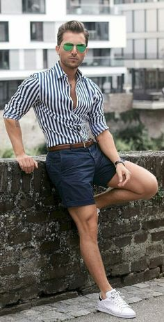 I like the shorts but I don't know about the shirt and shorts put together.