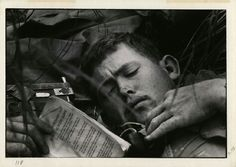 Vietnam War solider Photographer David Douglas Duncan