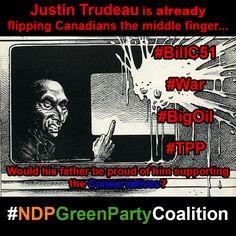 #JustinTrudeau #MiddleFingerNotMiddleClass #elexn42 #elexn2015 #canpoli