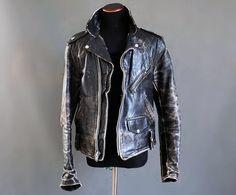 Beck 999 one star motorcycle jacket, Size 38 Vintage Leather Jacket, Biker Leather, Leather Men, Leather Jackets, Motorcycle Outfit, Motorcycle Jacket, Mens Fur, Biker Style, Gentleman Style