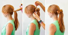 15beautiful hairstyles for those who adore their ponytail