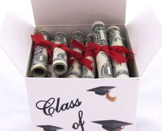 Cash is always a thoughtful gift for graduates, but this cute and easy idea will make the gesture extra special.