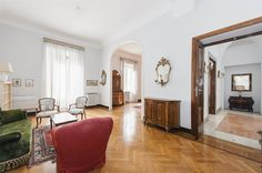 Apartment ideal for entertaining close to Piazza Ungheria, Rome, Italy – Luxury…