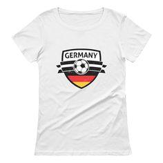 72f950dc9 Germany Soccer Team Deutschland Fans Women T-Shirt