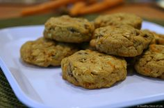 carrot cake lactation breakfast cookies- close up 2