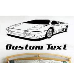 This wall decal features a matte finish for the fresh painted look and is the perfect wall decal to decorate your room. This wall sticker also makes a great gift for dad, brother or son. Vinyl Wall Stickers, Vinyl Wall Art, Wall Decal Sticker, Man Cave Wall Decals, Lotus, Oracal Vinyl, Great Gifts For Dad, Truck Decals, Man Cave Garage