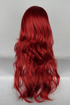 Japanese Lolita Style Wine Red Color Cosplay Wigs