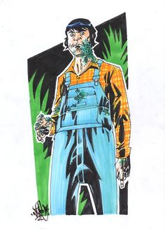 Creepshow: Jordy Verrill by Nathan Stockman Comic Art