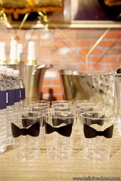 Dapper Birthday Bash / Design and Planning by Kaella Lynn Events / Photo by Kelly Freedman #bow #tie
