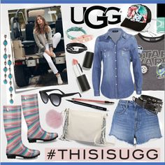 Play With Prints In UGG: Contest Entry by calamity-jane-always on Polyvore featuring Topshop, T By Alexander Wang, UGG Australia, Harrods, Valentino, Bling Jewelry, Michael Kors, Billabong, Yves Saint Laurent and Sigma