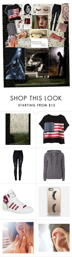 """""""She Will Be Loved (Maroon 5)"""" by only-selflove ❤ liked on Polyvore featuring Chicnova Fashion, Dorothy Perkins, adidas, Casetify and Vivienne Westwood"""