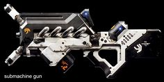 District 9 Custom cut vinyls for TMAX Props printed SMG Sci Fi Weapons, Weapon Concept Art, Fantasy Weapons, Weapons Guns, Space Armor, Stark Industries, Gifts For My Girlfriend, Spaceship Design