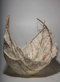 Beth LaCour, Branch and kozo paper. - Paper art