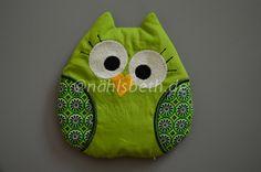 Owl Cherry Pit Pillow