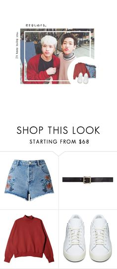 """""""j a c k b a m"""" by goyou11 ❤ liked on Polyvore featuring Miss Selfridge, Maison Margiela and adidas Originals"""