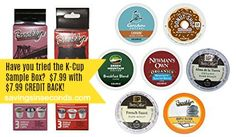 Try the K-Cups Coffee Sample Box + $10 Amazon #giveaway