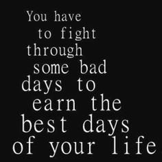 Learning this... Ive gotten to the BEST, happiest most content days of my life, loving all the rewards of the HAarD azz work it takes!! Xo~jla