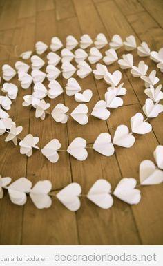 Idea para decorar la boda DIY, barato y bonito