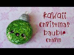 Kawaii Christmas Ball (^ω^) Pallina di Natale kawaii   Collab with FairyFashionArt - Tutorial - YouTube