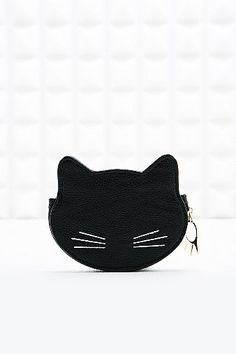 Deena & Ozzy Kitty Purse in Black - Urban Outfitters