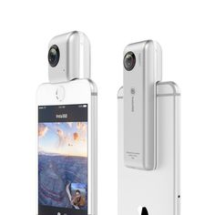 Nano HD 360 Panoramic Camera VR Camera 210 Degree Dual Wide Angle Fisheye Lens 360 Camera for iPhone 7 Iphone 6 S Plus, Iphone 7, Vr Camera, Digital Camera, Iphone Photography Apps, Photography Tips, Smartphone Price, Videos, Samsung