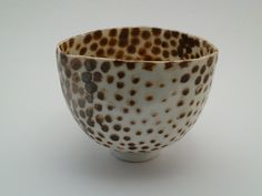 Small spotted bowl by woodfirer, via Flickr