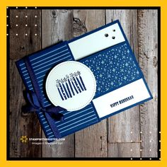 Joy Fold Card, Happy Hannukah, Hanukkah Cards, Stampin Up Catalog, Masculine Cards, Stamping Up, Kids Cards, Greeting Cards Handmade, Stampin Up Cards