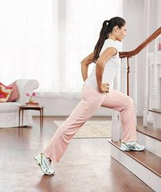 Use any set of stairs, indoors or out, to complete this quick cardio workout.