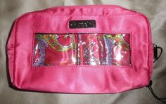 PurseN Hot Pink Paisley Clasic Small Make Up Case Bag Cosmetic Purse Organizer 2 Amber Ring, Wallets For Women Leather, Clutch Purse, Coin Purse, Purse Organization, Sleeping Beauty Turquoise, Makeup Case, Jansport Backpack, Dooney Bourke