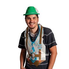 Wear this Yodeler Hat for a traditional German feel. The Yodeler Hat is adorned with a decorative cord and made of  textured plastic. The fun Oktoberfest accessory fits most adults and kids. Add the plastic Oktoberfest Vest and you're ready to party.