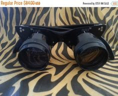 Holiday Sale 1950's 1960's Vintage Cat's Eye by MartiniMermaid