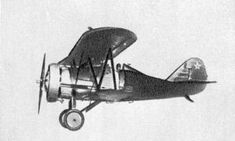 Polikarpov I-5 - fighter bi-plane used in WW2