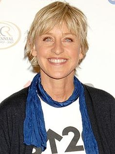I hope that when I hit 50, I'm as happy with my life and make others around me as happy as Ellen DeGeneres does.