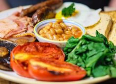 Feeling chilly this morning? Why not head to our Northgate store located on the bull ring. Our full English breakfast i. Hot British Actors, Cafe Food, London Travel, Food Pictures, Thai Red Curry, Stuffed Mushrooms, Healthy Eating, Tasty, Nutrition