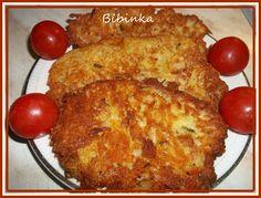 Brambory nastrouháme na hrubo-větší slzičky, pokud jsou brambory moc vodnaté, vylijeme usazelou tekutinu, přidáme žloutky, pepř, protlačené... Gnocchi, Macaroni And Cheese, French Toast, Pancakes, Potatoes, Cooking Recipes, Sweets, Baking, Breakfast