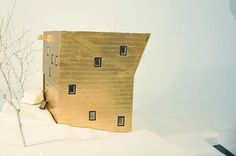 'Nail Collector's House' by Steven Holl, Essex, NY, United States, 2001-2004