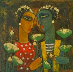 Mithu Basu: Dolna recommends a great way to stART each day. Click For more information on artist Paresh Hazra and details of his works.