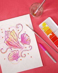 How to Create a Lilly Design Pattern - Martha Stewart Crafts.