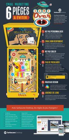 Infographie email marketing : 6 mauvaises pratiques à éviter en 2015 !