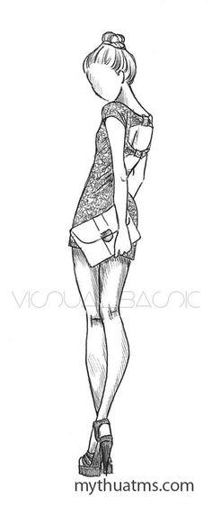 Dáng người mẫu thời trang 9