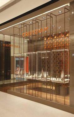ideas jewerly shop vitrin for 2019 Jewellery Shop Design, Jewellery Showroom, Jewelry Shop, Jewelry Stores, Trendy Jewelry, Jewelry Holder, Jewelry Ideas, Diy Jewelry, Jewelry Gifts