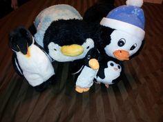 Handful of penguins