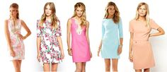 5 Chic Shift Dresses Perfect For Summer Date Nights #datenight #dresses #preppy