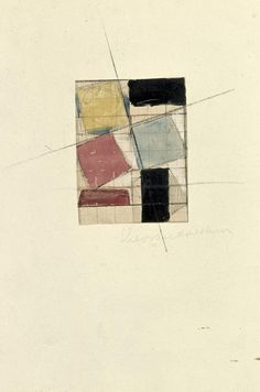 Theo van Doesburg – Composition (Study)